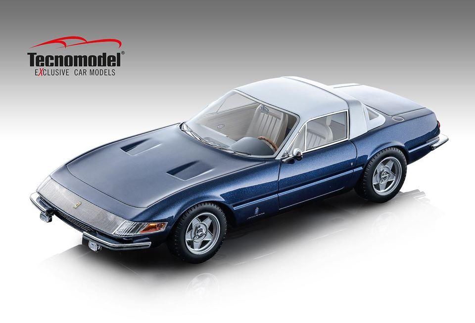 Tecnomodel テクノモデル 1/18 ミニカー レジン プロポーションモデル 1969年モデル フェラーリ 365 GTB/4 デイトナ クーペFERRARI - 365 GTB/4 DAYTONA COUPE SPECIALE 1969