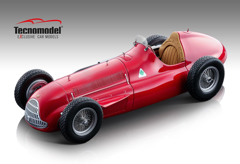 Tecnomodel テクノモデル 1/18 ミニカー レジン プロポーションモデル 1951年シーズン アルファロメオ アルフェッタ 159M1951 Alfa Romeo Alfetta 159M 1:18 Tecnomodel