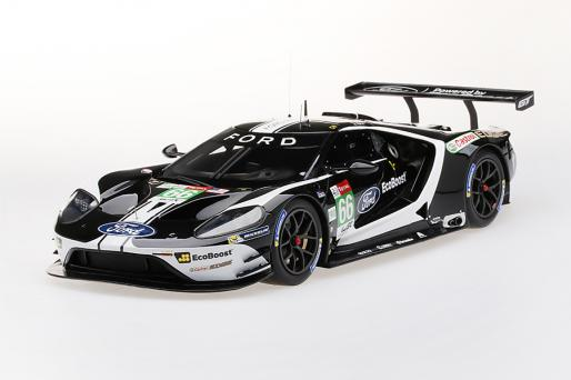 Top Speed 1/18 ミニカー レジン プロポーションモデル 2019年ルマン24時間 LMGTE-Pro フォード GT チップガナシュチーム UKFord GT 2019 24Hrs of Le Mans LM GTE-Pro Ford Chip Ganassi Team UK