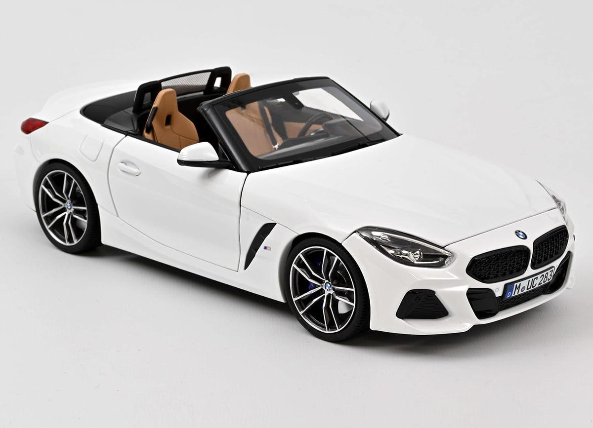 Norev BMW Group AG ライセンス商品 Norev ノレヴ 1/18 ミニカー ダイキャストモデル 2019年モデル BMW Z4 ホワイトカラー