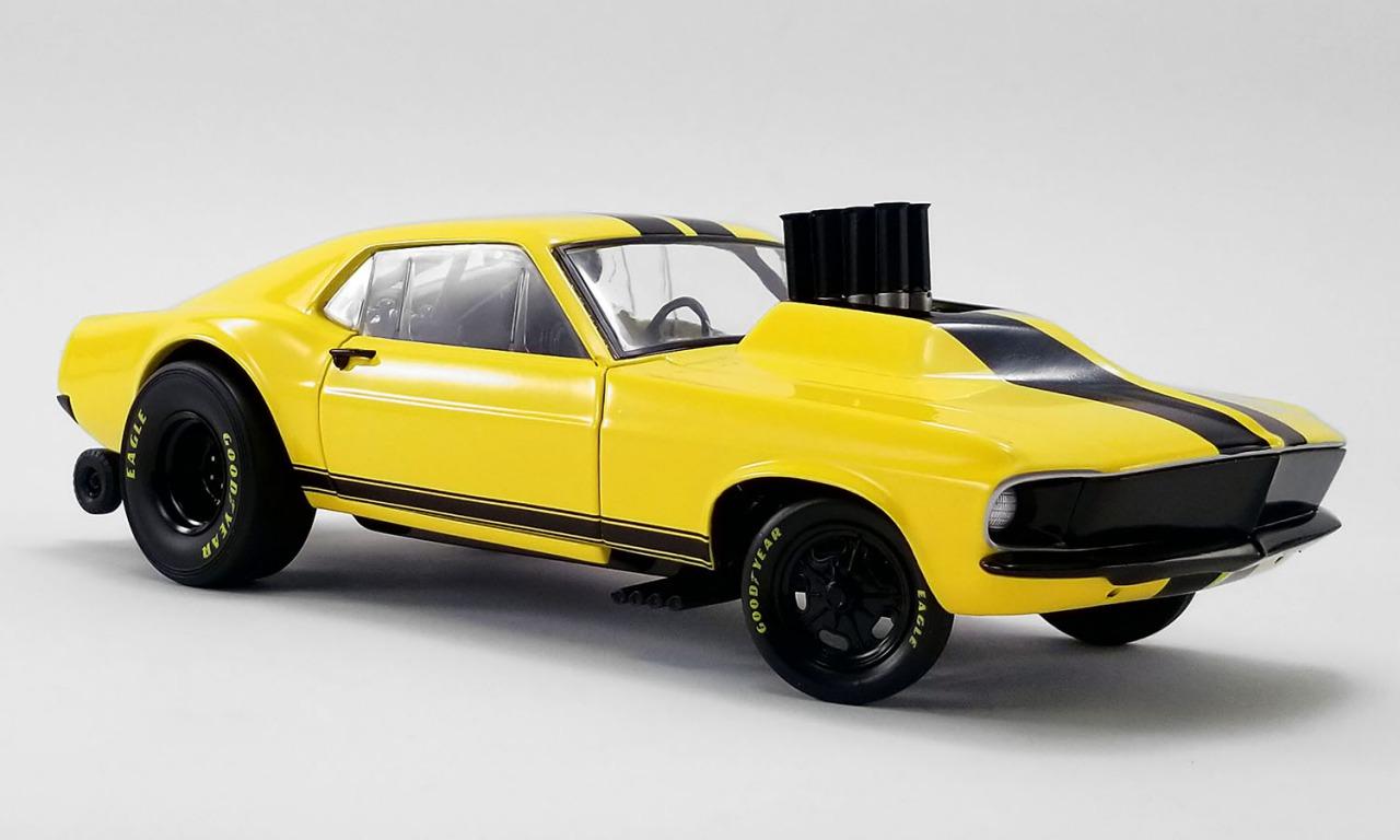ACME 1/18 ミニカー ダイキャストモデル 1969年モデル フォード マスタング STINGER 1969 MUSTANG GASSER - STINGER - ACME EXCLUSIVE 1:18 ACME