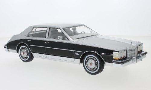 BoS Models 1/18 ミニカー レジン プロポーションモデル 1980年モデル キャディラック セヴィル メタリックグレーCadillac Seville, metallic-grau/schwarz, 1980 1:18 BoS Models