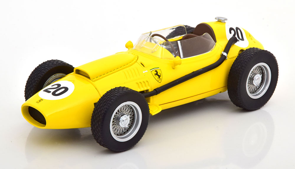 CMR 1/18 ミニカー レジン プロポーションモデル 1958年ベルギーGP フェラーリ Dino 246 No.20Olivier Gendebien Ferrari Dino 246 #20 6th Belgian GP F1 1958 1:18 CMR