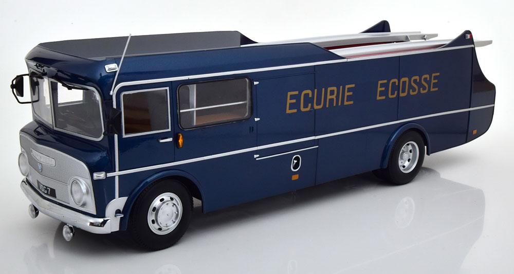 CMR 1/18 ミニカー ダイキャストモデル 1959年モデル Commer TS3 Truck Team Transporter Ecurie EcosseCommer TS3 Truck Team Transporter Ecurie Ecosse 1959 blue metallic 1:18 CMR