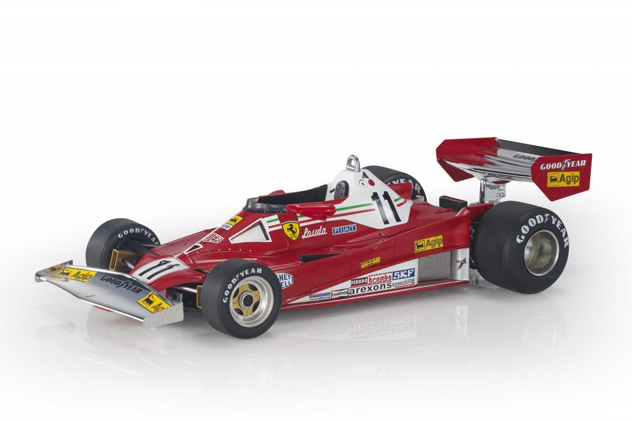 GP Replicas 1/18 ミニカー レジン プロポーションモデル 1977年オランダGP フェラーリ F1 312T2 No.11 Niki LaudaFERRARI - F1 312T2 N 11 WINNER DUTCH ZANDVOORT GP WORLD CHAMPION 1977 NIKI LAUDA 1:18 GP Replicas