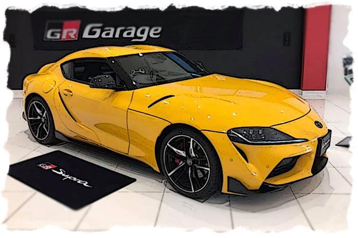 IDEA 1/18 ミニカー レジン・プロポーションモデル 2019年モデル トヨタ GR Supra RZ 日本仕様2019 Toyota GR Supra RZ Japan Spec. 1:18 IDEA