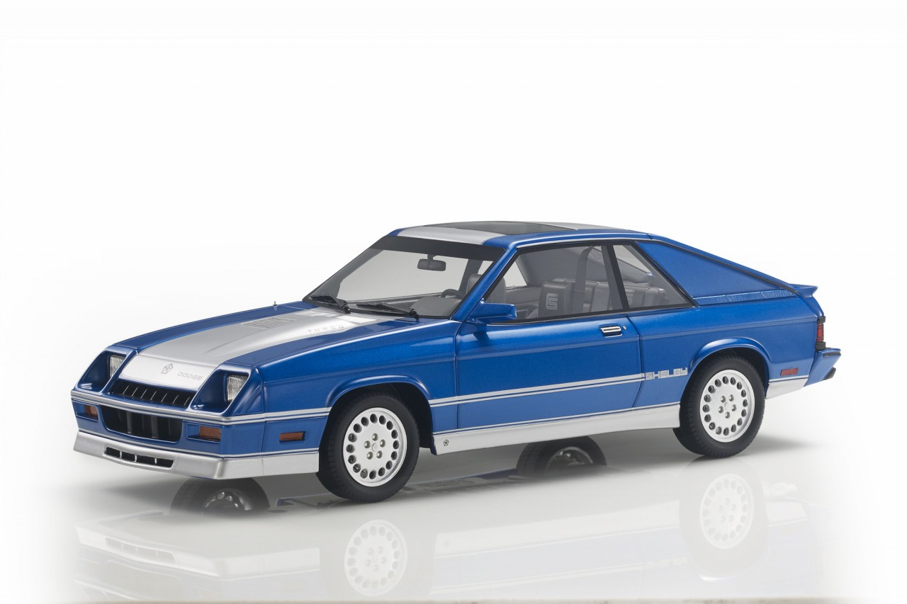 LS Collectibles 1/18 ミニカー レジン プロポーションモデル 1985年モデル ダッジ シェルビー チャージャー TurboDODGE - SHELBY CHARGER TURBO 1985 1:18 LS Collectibles