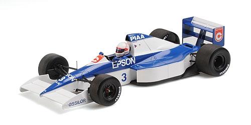 Minichamps ミニチャンプス 1/18 ミニカー レジン プロポーションモデル 1990年USA GP ティレル F1 018 FordTYRRELL - F1 018 FORD USA GP 1990 1:18 Minichamps