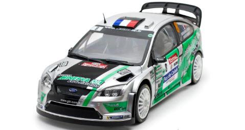Sun Star サンスター 1/18 ミニカー ダイキャストモデル フォード フォーカス RS WRC 2012年 Rallye du Touquet #8 J-C Beaubelique