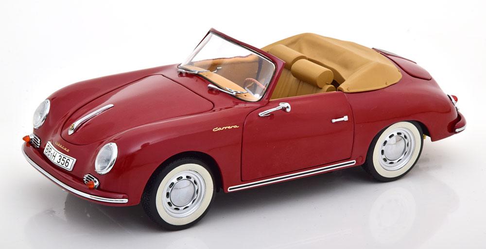 Schuco シュコー 1/18 ミニカー ダイキャストモデル 1954年モデル ポルシェ 356A Carrera Speedster レッドPORSCHE - 356A CARRERA SPEEDSTER 1954 1:18 Schuco