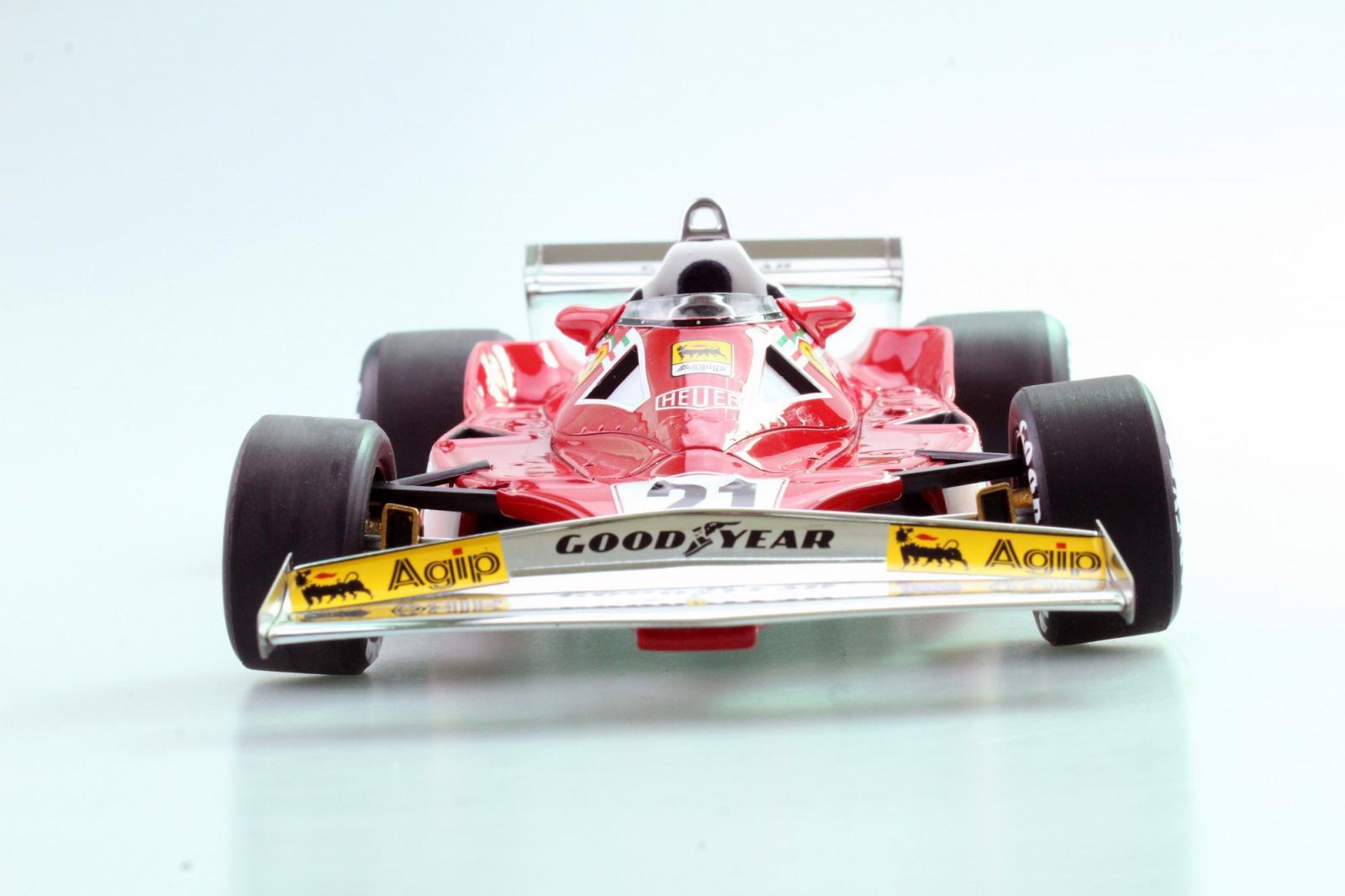 GP Repliacas 1:18スケール レジン・プロポーションモデル 1977年シーズン フェラーリ 312T2 No.21 ジル・ヴィルヌーブFERRARI - F1 312T2 N 21 SEASON 1977 G.VILLENEUVE 1/18 by GP Replacas NEW
