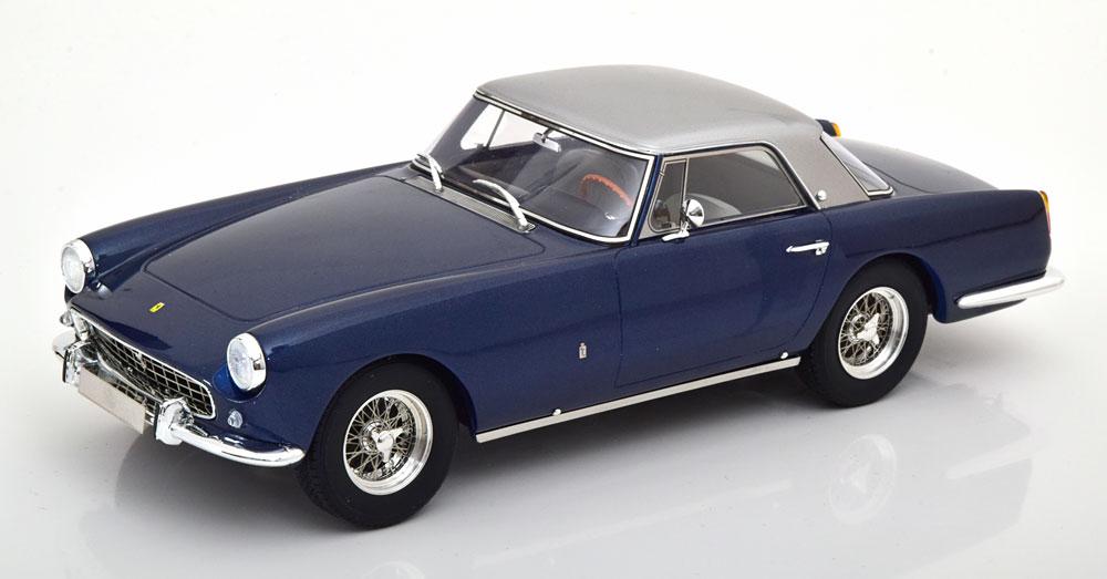Matrix 1/18 ミニカー レジン プロポーションモデル 1958年モデル フェラーリ 250 GT Coupe ピニンファリーナ ブルー・シルバーFerrari 250 GT Coupe Pininfarina blue / silver 1958 1:18 Matrix