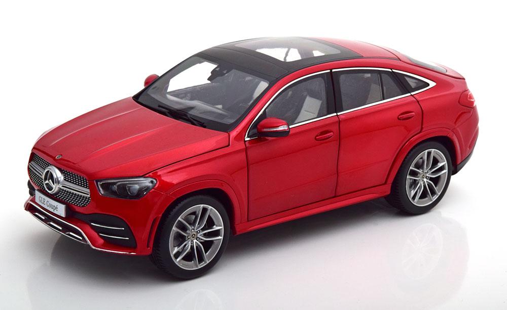 ディーラーモデル 1/18 ミニカー ダイキャストモデル 2020年モデル メルセデスベンツ GLE Coupe C167 レッドメタリックMERCEDES BENZ - GLE-CLASS GLE COUPE (C167) 2020 1:18 Mercedes Benz AG