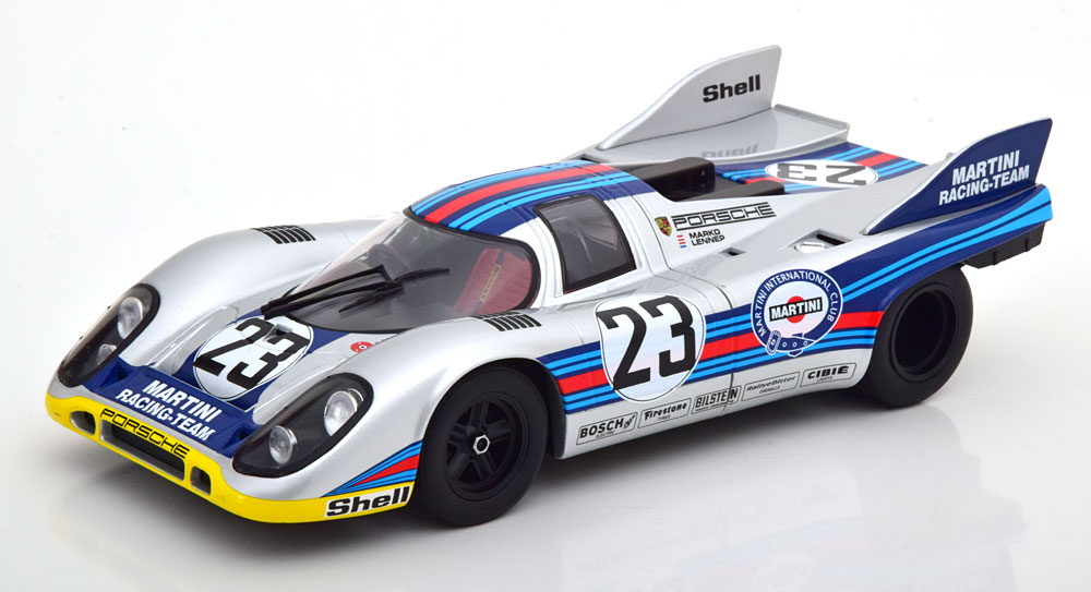 CMR 1/18 ミニカー ダイキャストモデル 1971年1000KM SPA ポルシェ 917K Martini Team No.23PORSCHE - 917K MARTINI TEAM N 23 1000Km SPA 1971 HELMUT MARKO - GIJS VAN LENNEP 1:18 CMR