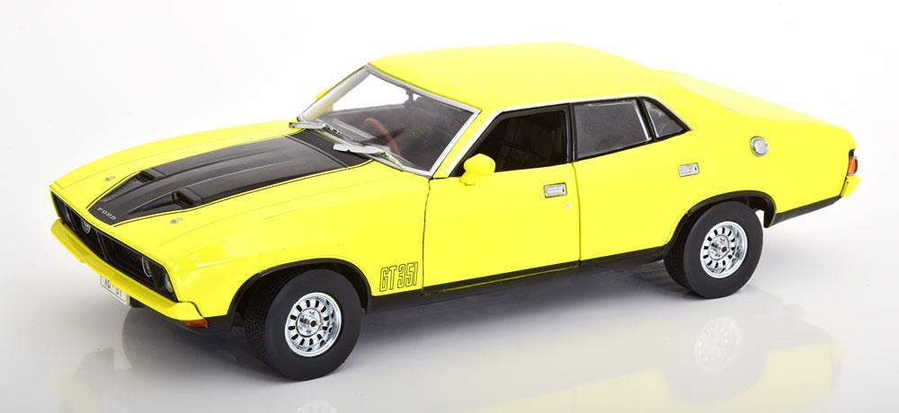 Greenlight グリーンライト 1/18 ミニカー ダイキャストモデル 1974年モデル フォード ファルコン XB GT3511974 Ford Falcon XB GT351 4-door Sedan 1:18 Greenlight