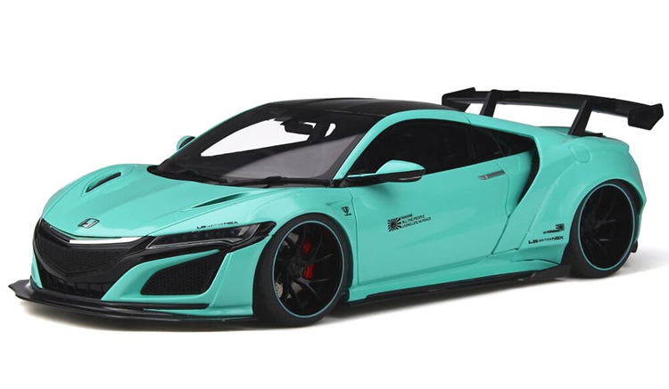 GT Spirit 1/18 ミニカー レジン プロポーションモデル 2017年モデル ホンダ NSX NC1 by LB WorksHONDA NSX Customized by LB ★ WORKS in its