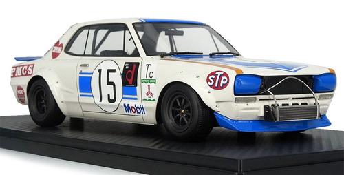 Ignition Model イグニッションモデル 1/18 ミニカー レジン プロポーションモデル 1972年富士300Km 日産 スカイライン GT-R No.151972 Fuji 300km Speed Race Nissan Skyline 2000 GT-R KPGC10 No.15 1:18 Ignition Model
