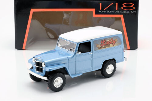 Road Signature 1:18スケール 1955年モデル ウィリス ジープ ステーションワゴン1955 Willys Jeep Station Wagon 1/18 Diecast Model Car by Road Signature