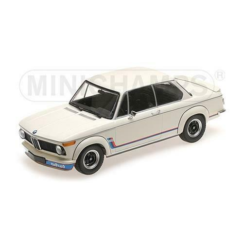 Minichamps ミニチャンプス 1/18 ミニカー ダイキャストモデル 1973年モデル BMW 2002 Tii Turbo ホワイトBMW - 2002 Tii TURBO 1973 1:18 white by Minichamps