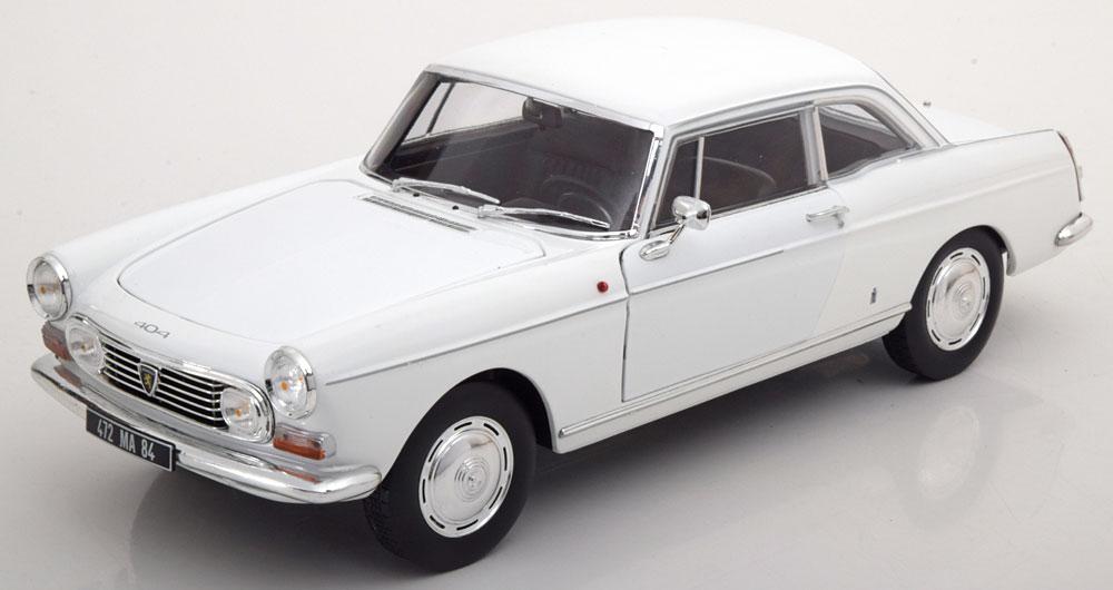 Norev ノレヴ 1:18 1967年モデル プジョー 404 ホワイト1967 Peugeot 404 1/18 Diecast Model Car by Norev