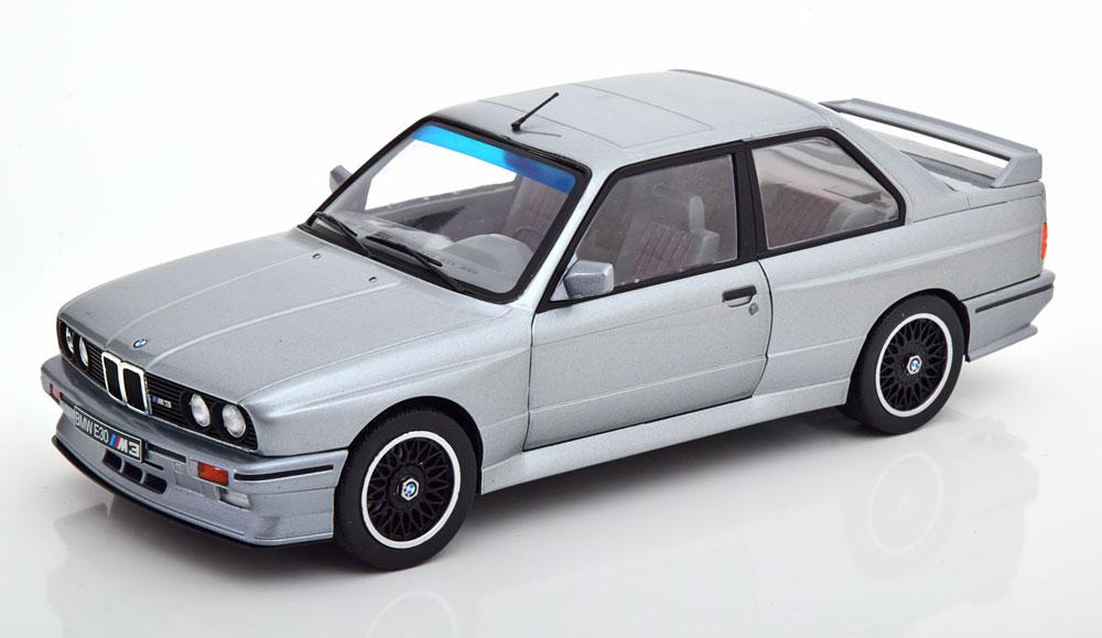 Solido 1/18 ミニカー ダイキャストモデル 1990年モデル BMW M3 アンソラサイトシルバーBMW - 3-SERIES (E30) M3 COUPE 1990 1:18 Solido