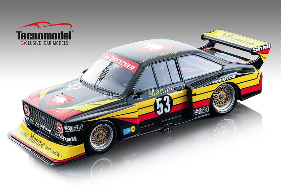 Tecnomodel テクノモデル 1/18 ミニカー レジン プロポーションモデル 1978-80年 フォード エスコート II RS Turbo1978-80 FORD ENGLAND - ESCORT II RS TURBO 1:18 Tecnomodel