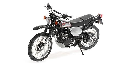 Minichamps Yamaha ライセンス商品 ミニチャンプス 1 12 ダイキャストモデル 1988年モデル - ブラック 1988 ヤマハ YAMAHA 爆買い送料無料 XT BLACK 500 新作送料無料
