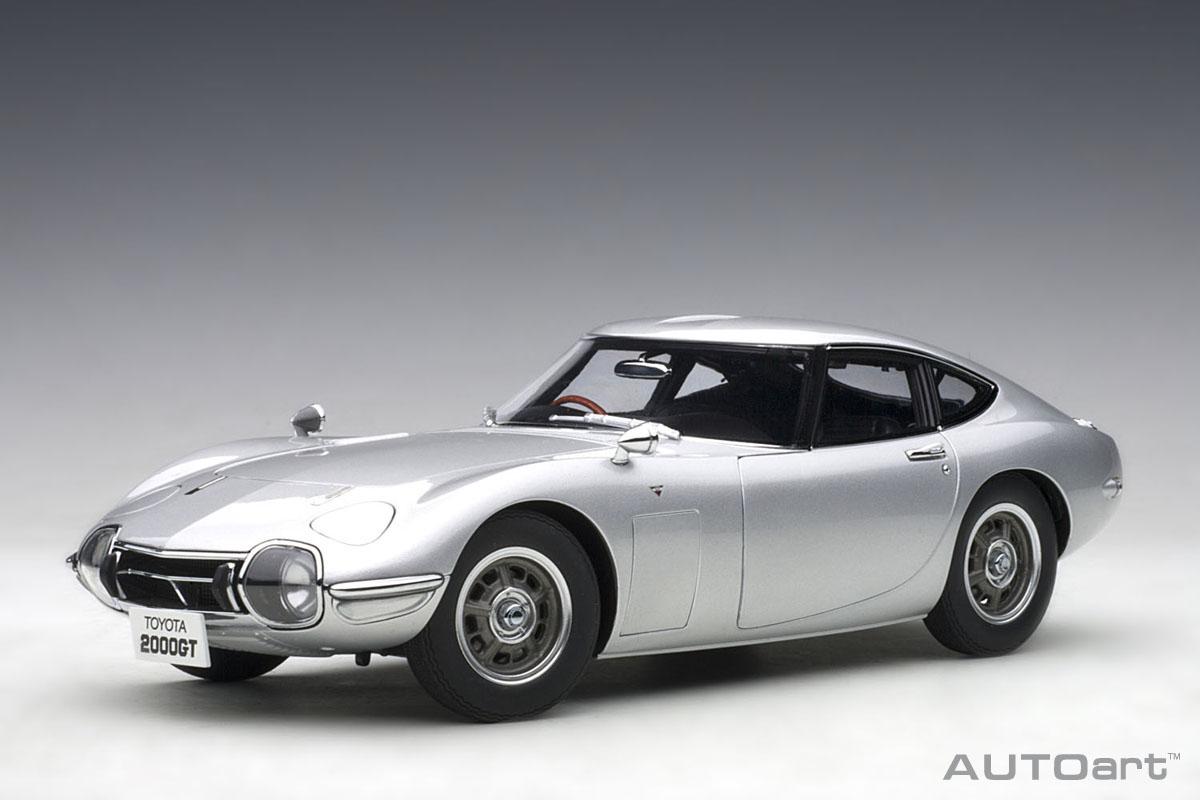 AUTOart Toyota 品質検査済 Motor Corp.ライセンス商品 引出物 オートアート 1 コンポジットダイキャストモデル 2000GT ミニカー 1967年モデル トヨタ 18