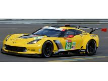 Spark 1:18スケール レジン・プロポーションモデル 2018年ルマン24時間 シボレー コルベット C7R No.63CHEVROLET - CORVETTE C7R TEAM CORVETTE RACING N 63 18th 24h LE MANS 2018 J.MAGNUSSEN - A.GARCIA - M.ROCKENFELLER 1/18 by Spark NEW
