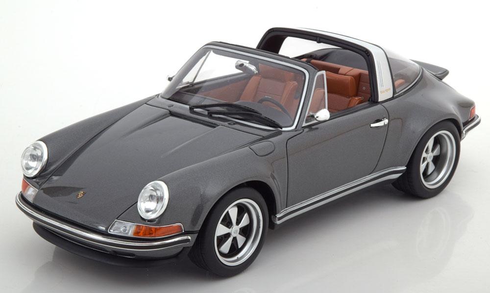 日本未発売 CMR 1:18スケール レジン・プロポーションモデル 1990年モデル Singer Porsche 911 Targa グレー1990 Singer Targa modification of a Porsche 911 gray 1:18 CMR NEW