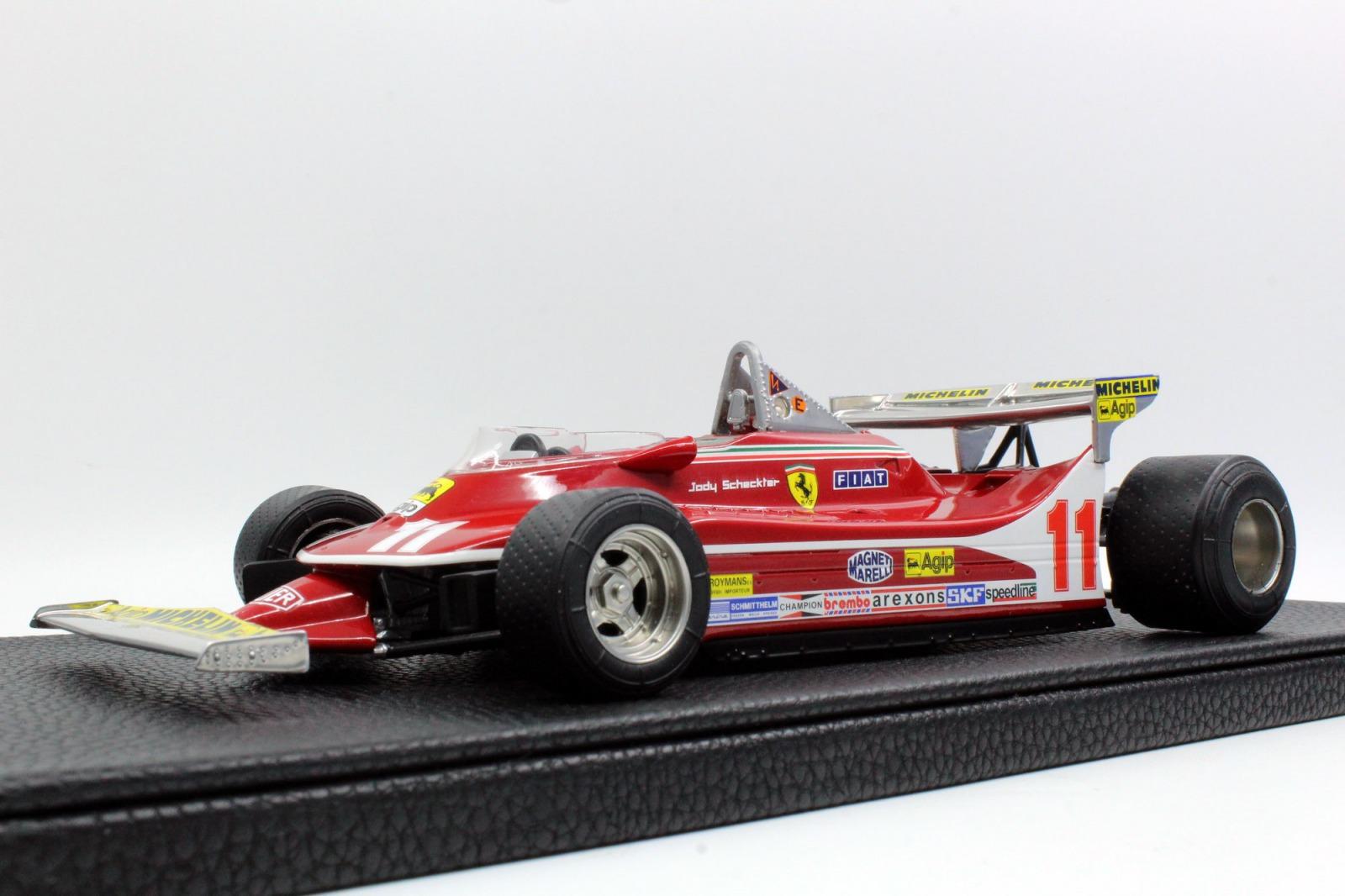 GP Replicas 1:18スケール レジン・プロポーションモデル 1979年モンテカルロGP優勝 フェラーリ F1 312T4 No11 J.Skeckter(ジョディー・シェクター)FERRARI - F1 312T4 N 11 GP MONTECARLO 1979 J.SCHECKTER 1979 WORLD CHAMPION