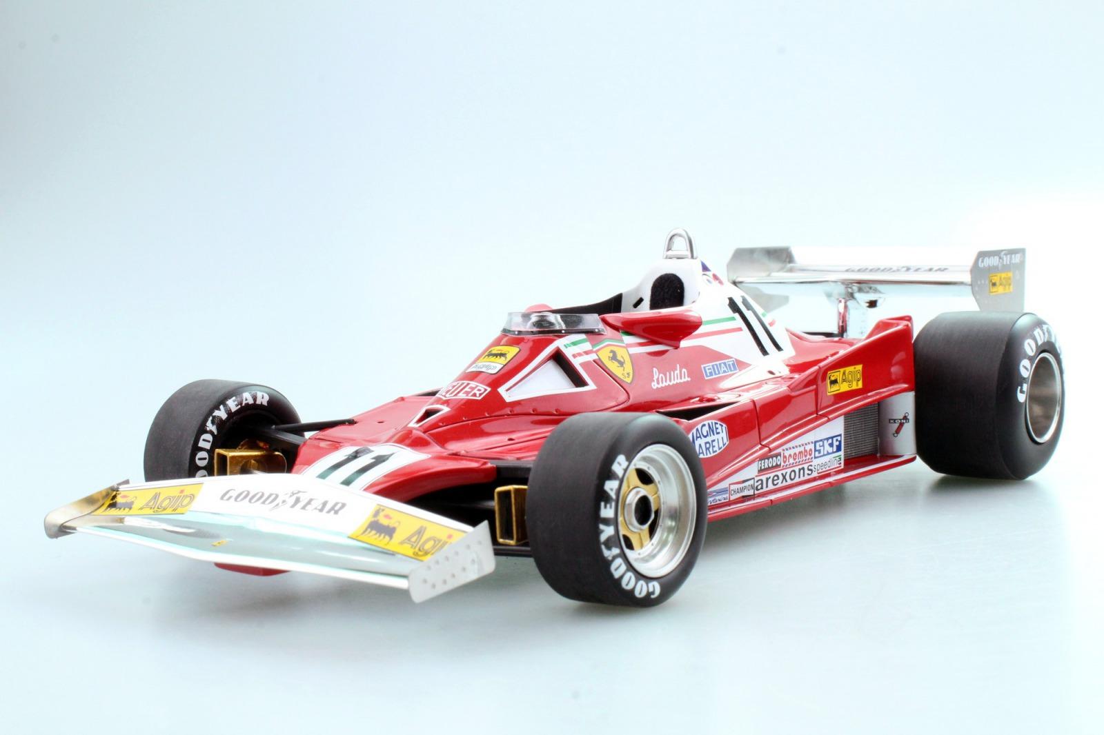 GP Replicas 1:18レジン・プロポーションモデル 1977年後期シーズン フェラーリ F1 312T2 No.11 Niki Lauda ニキ・ラウダFERRARI - F1 312T2 N 11 SEASON 1977 NIKI LAUDA 1/18 by GP Replicas NEW