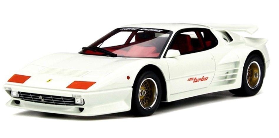 GT Spirit 1:18スケール レジン・プロポーションモデル 1983年モデル ケーニッヒ スペシャル 512 BBi TurboKoenig Specials 512 BBI Turbo Ferrari year 1983 1:18 GT-SPIRIT