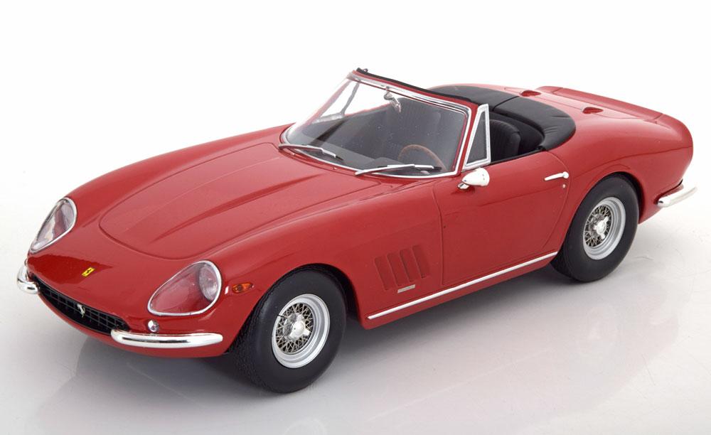 KK Scale 1:18スケール ダイキャストモデル 1967年モデル フェラーリ 275 GTB/4 NART SpiderFERRARI - 275 GTB/4 NART SPIDER 1967 1/18 by KK Scale