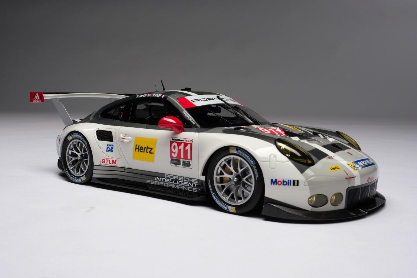 Amalgam Collection アマルガムコレクション 1:18 2016年モデル ポルシェ 911 RSR2016 Porsche 911 RSR 1/18 by Amalgam Collection NEW