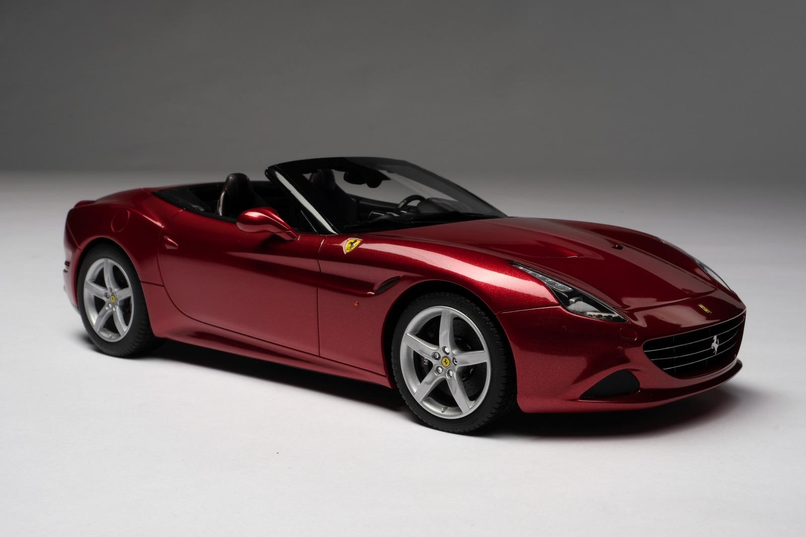 Amalgam Colleciton 2015年モデル フェラーリ カリフォルニア T Rosso Mugello レッド2015 Ferrari California T 1/18 Rosso Mugello red by Amalgam Collection NEW