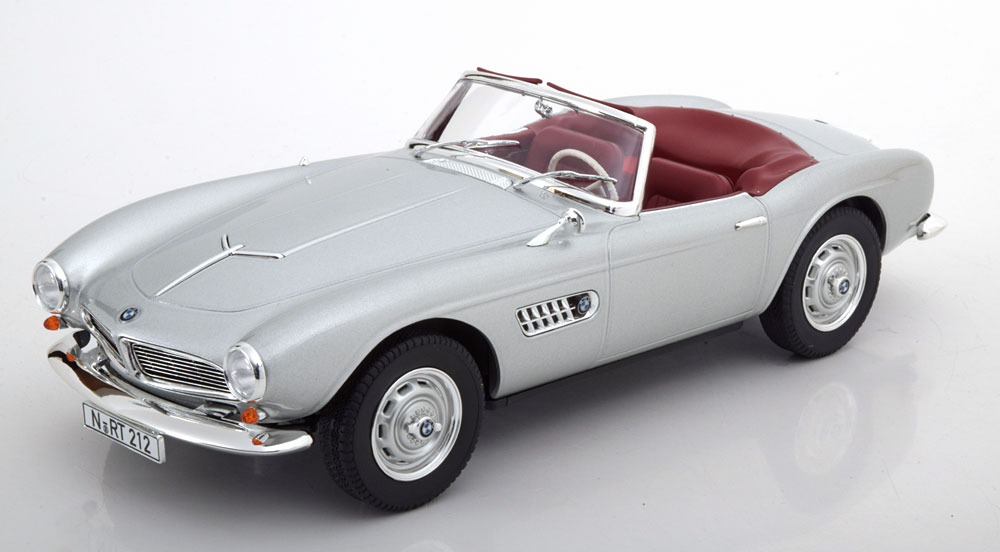 Norev ノレヴ 1:18 1956年モデル BMW 507 シルバー1956 BMW 507 SPIDER 1:18 silver by Norev