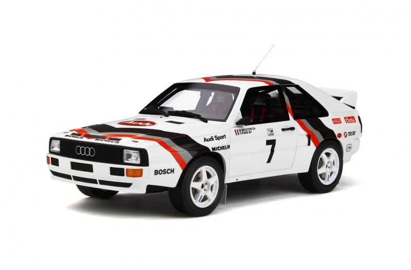 Otto Mobile 1:18スケール レジン・プロポーションモデル 1984年Pikes Peak アウディ スポーツ クアトロ #7 M. Mouton1984 Audi Sport quattro