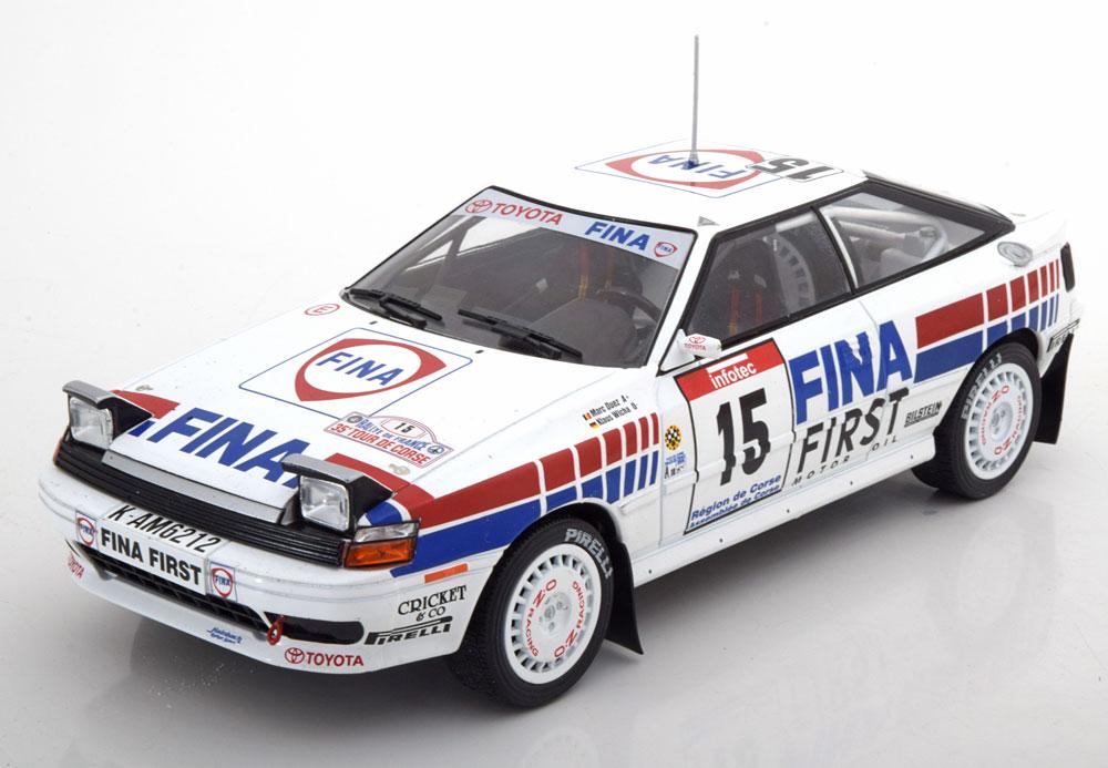 Triple9 Collection 1:18 1991年Tour de Corse トヨタ セリカ No.151991 Toyota Celica #15 Fina Tour de Corse M.Duez Rally Tour de Corse 1/18 by Triple9 Collection NEW