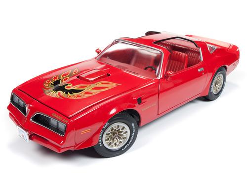 Autoworld オートワールド 1/18 ミニカー ダイキャストモデル 1977年モデル ポンティアック トランザム パッカニアレッド1977 Pontiac Firebird Trans Am Buccaneer Red Limited Edition 1:18 Autoworld