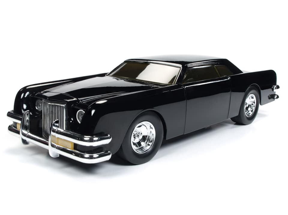 Autoworld オートワールド 1:18スケール ダイキャストモデル 1977年公開 「ザ・カー」1971年モデル リンカーン1971 Lincoln From The 1977 Movie *The Car* designed by George Barris Car