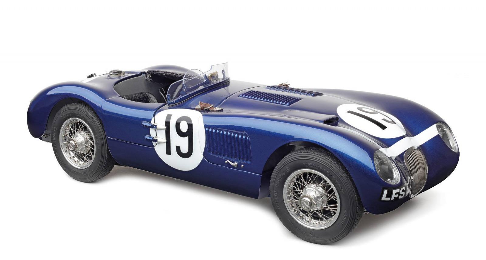CMC 1/18 ミニカー ダイキャストモデル 1953年モデル ジャガー C Type1953 Jaguar C Type 1:18 CMC