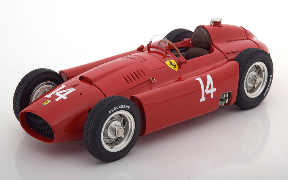 CMC 1/18 ミニカー ダイキャストモデル 1956年フランスGP フェラーリ F1 D50 Short Nose No.14 CollinsFERRARI - F1 D50 SHORT NOSE N 14 FRENCH GP 1956 COLLINS 1:18 CMC