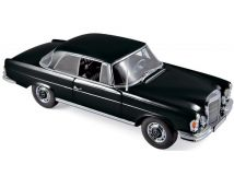 Norev ノレヴ 1:18スケール ダイキャストモデル 1969年モデル メルセデスベンツ S Class 280SE クーペMERCEDES BENZ - S-CLASS 280SE COUPE 1969 1/18 by Norev