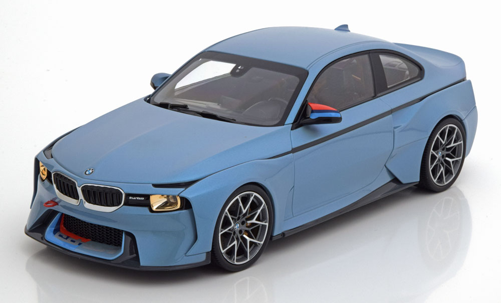 BMW ディーラーモデル 1/18 ミニカー ダイキャストモデル 2018年オマージュコレクション BMW 2002 Hommage2018 BMW 2002 Hommage Collection 1:18 blue BMW Group AG