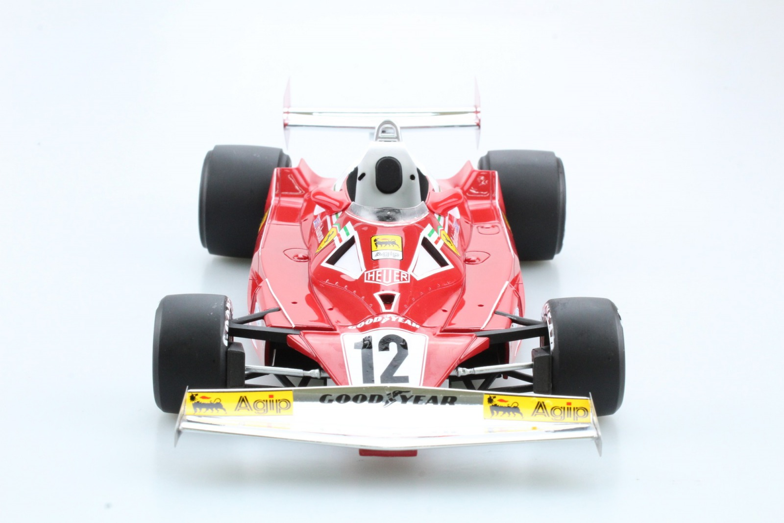 GP Replicas 1/18 ミニカー レジン・プロポーションモデル 1977年シーズン フェラーリ F1 312 T2 No.12 カルロス ロイテマンFERRARI - F1 312T2 N 12 SEASON 1977 C.REUTEMANN 1:18 GP Replicas