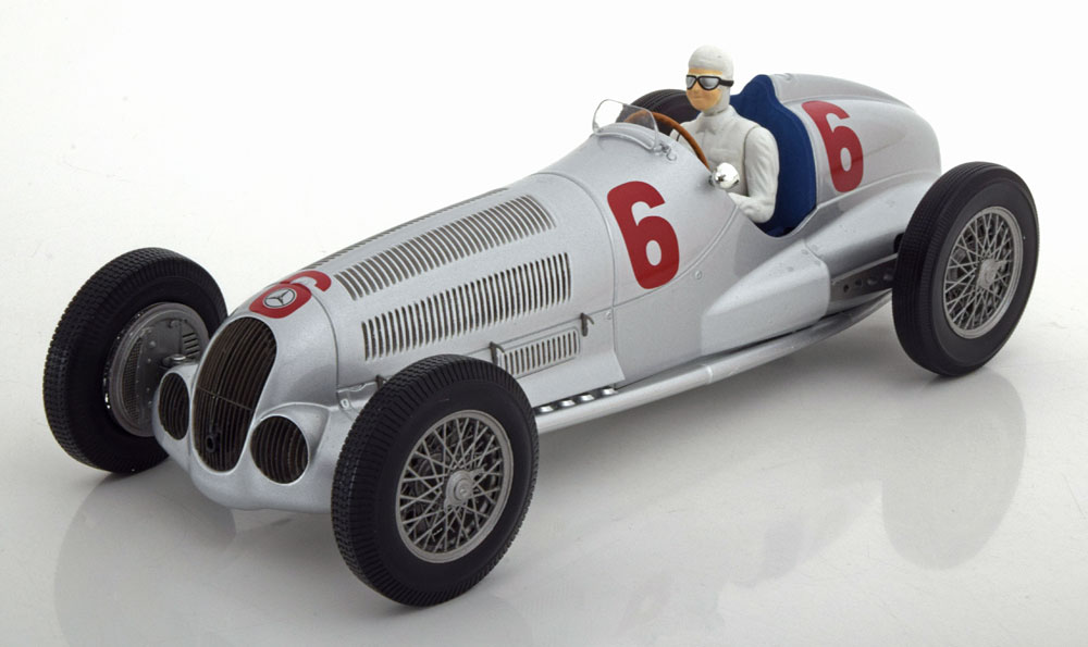 Minichamps ミニチャンプス 1/18 ミニカー ダイキャストモデル 1937年 メルセデスベンツ W1251937 Mercedes Benz W125 1:18 Minichamps