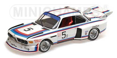 Minichamps ミニチャンプス 1/18 ミニカー ダイキャストモデル 1979年ワトキンズ・グレン・インタナショナル6時間 BMW 3.5 CSL No.5BMW 3.5 CSL MILLER/COWART 6H WATKINS GLEN 1979 1:18 Minichamps