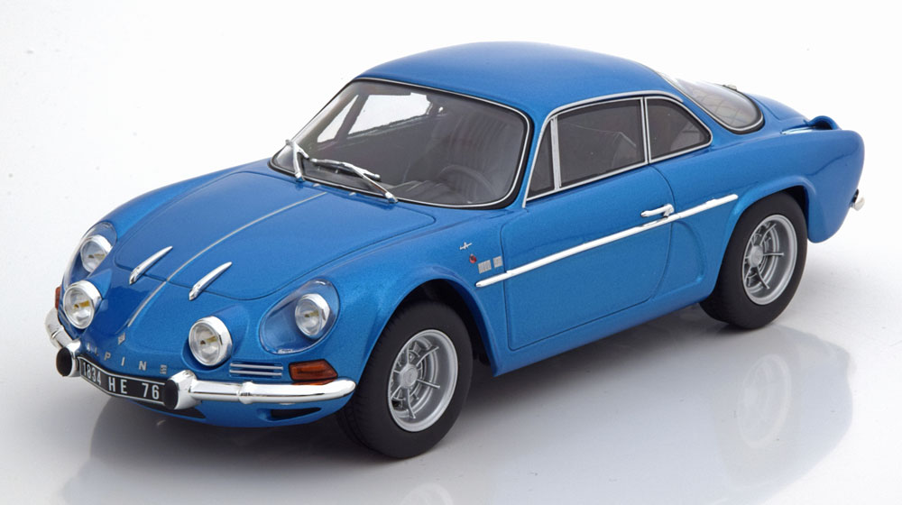 Norev ノレヴ 1/18 ミニカー ダイキャストモデル 1971年モデル ルノー アルピーヌ A110RENAULT - ALPINE A110 1600S COUPE 1971 1:18 Norev
