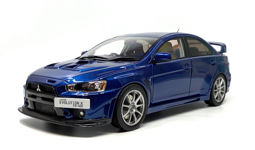 BM Creations 1/18 ミニカー レジン・プロポーションモデル 2010年モデル 三菱 ランサー EVO X FQ4002010 Mitsubishi Lancer EVO X FQ400 1:18 Volcanic Resin Series by BM Creations